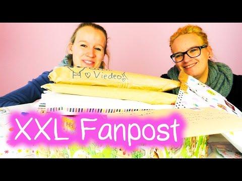 1 Stunde Fanpost UNBOXING | Vielen Dank!!! | Post & Überraschungen | DIY Inspiration - Eva & Kathi