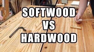 Softwood Workbench VS Hardwood Workbench