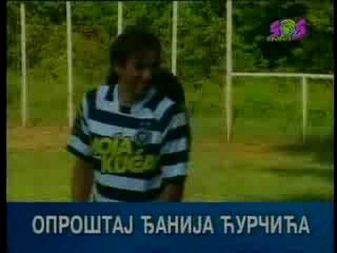 Sasa Djani Curcic Oprostaj Od Fudbala Youtube