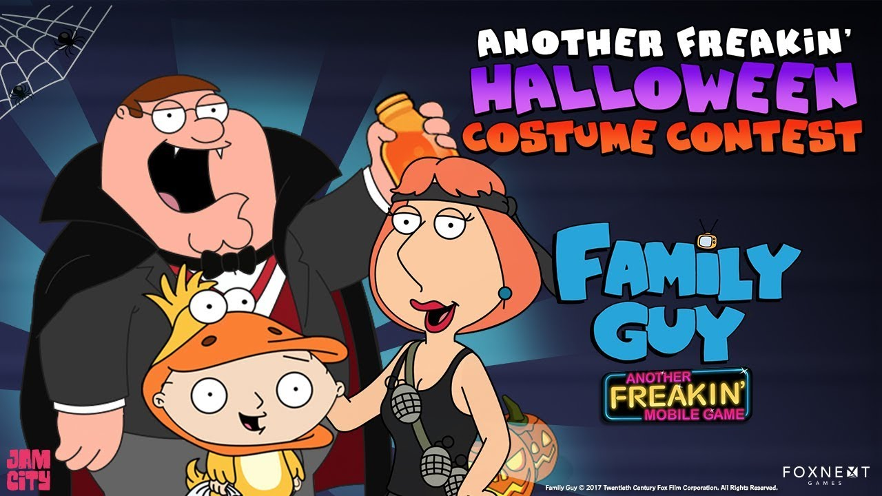 Family Guy: Another Freakin' Halloween Costume Contest - YouTube