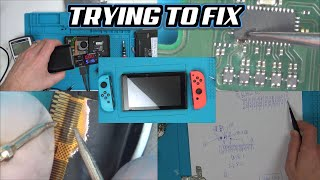 Trying to FIX a Down & Out NINTENDO SWITCH