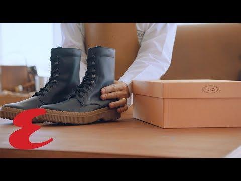 Handmade: Italian Leather Boot | Esquire + Tod's