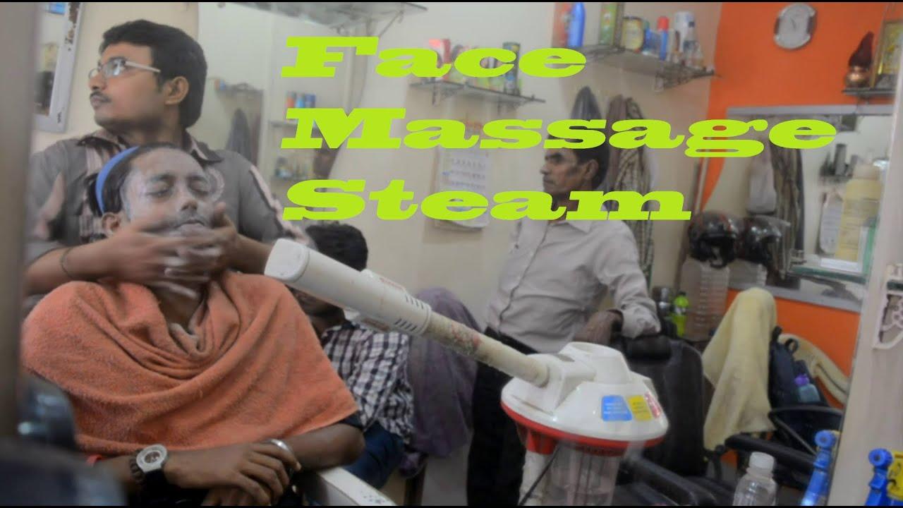 Massage Indian facial