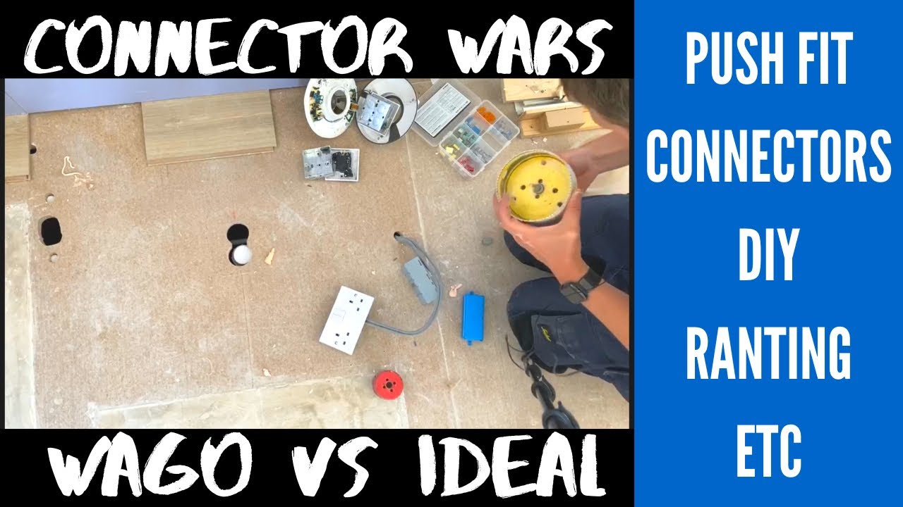 Connector Wars?! Wago vs Ideal and Some Naughty DIY - Electrician Life
