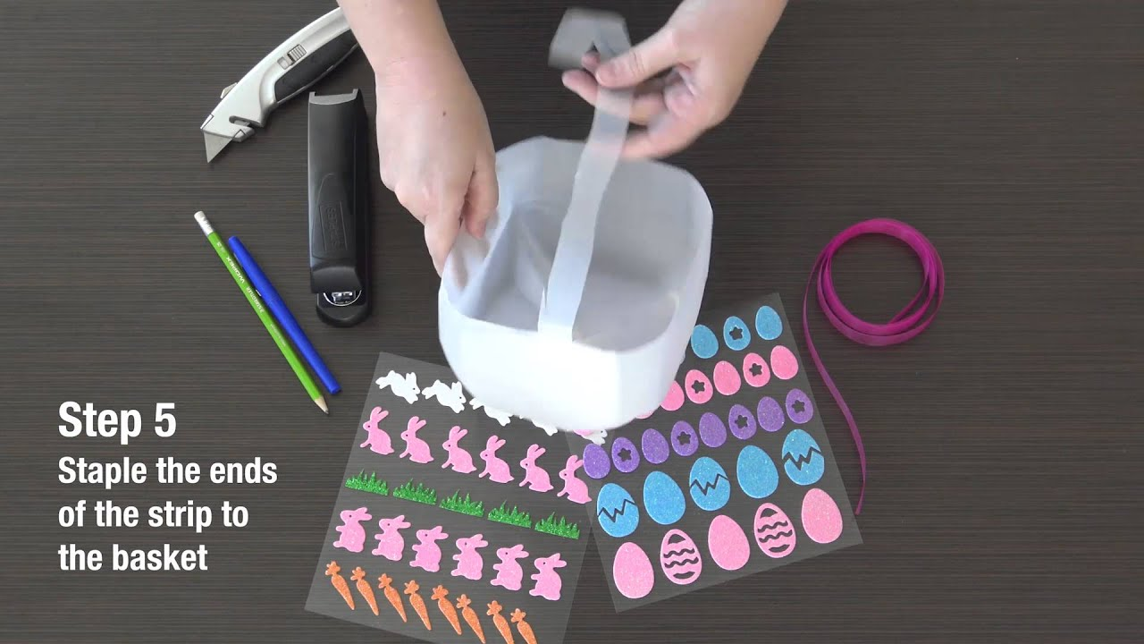 Simple diy milk jug easter basket youtube simple diy milk jug easter basket negle Image collections