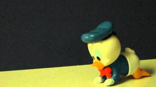 eBay Item Demo - 1984 Wind Up Crawling Baby Donald Duck