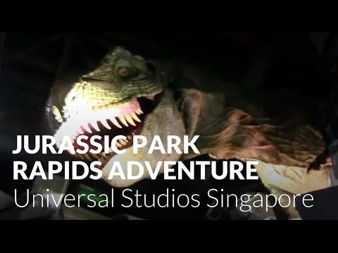 56ef94bebb1 Jurassic Park Rapids Adventure - Universal Studios Singapore - YouTube