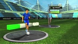 adidas miCoach Launch Trailer // Kinect for Xbox 360 // PEGI(The miCoach video game is the latest addition to the miCoach world. It's your exercise world perfectly synced from your Kinect for Xbox 360, and it's out now!, 2012-07-17T17:12:02.000Z)