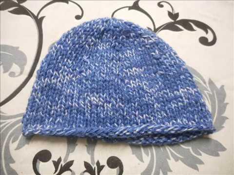 tuto tricot bonnet jersey bébé