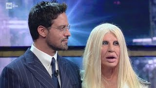 Donatella Versace e Gabriel Garko - Virginia Raffaele - Facciamo che io ero 18/05/2017