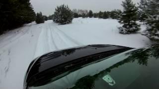 4WD по бездорожью! тест камеры 4К