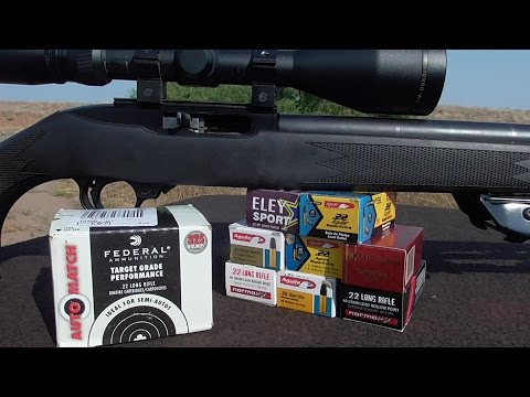 .22lr Ammo Shootout! - Testing & Review Which to Stock Up On