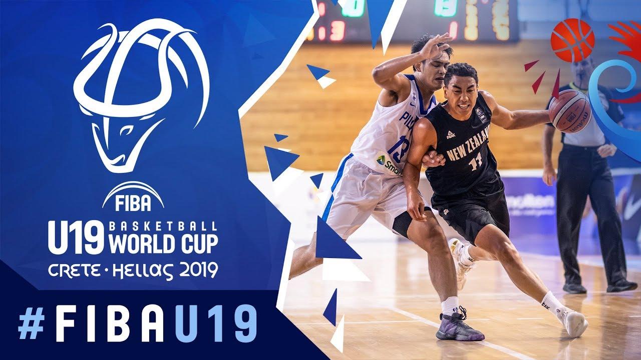 Philippines v New Zealand - Highlights - Class 13-14 - FIBA U19 Basketball World Cup 2019