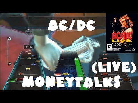 ACDC  Moneytalks   ACDC : Rock Band Track Pack Expert Full Band