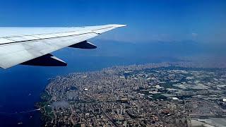 Видео съемка из самолета (взлет-полет-посадка)