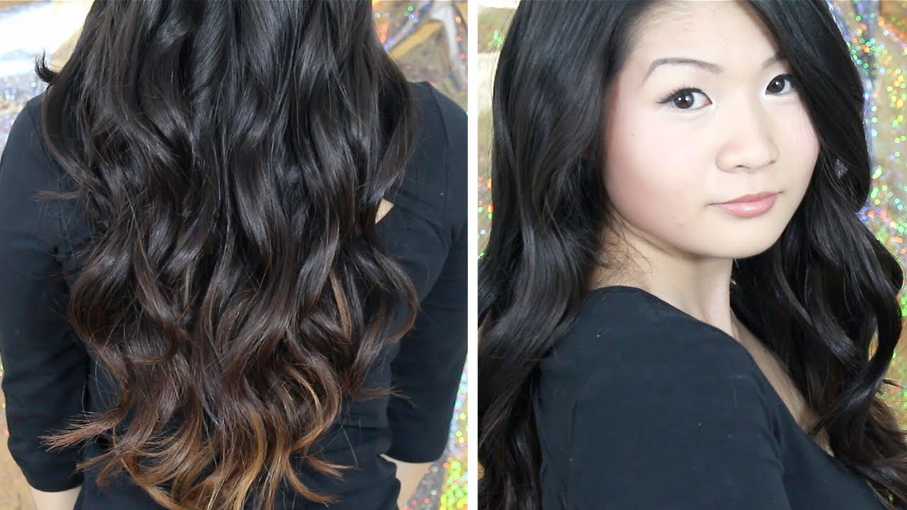 How To Everyday Easy Casual Loose Curls Waves Using A