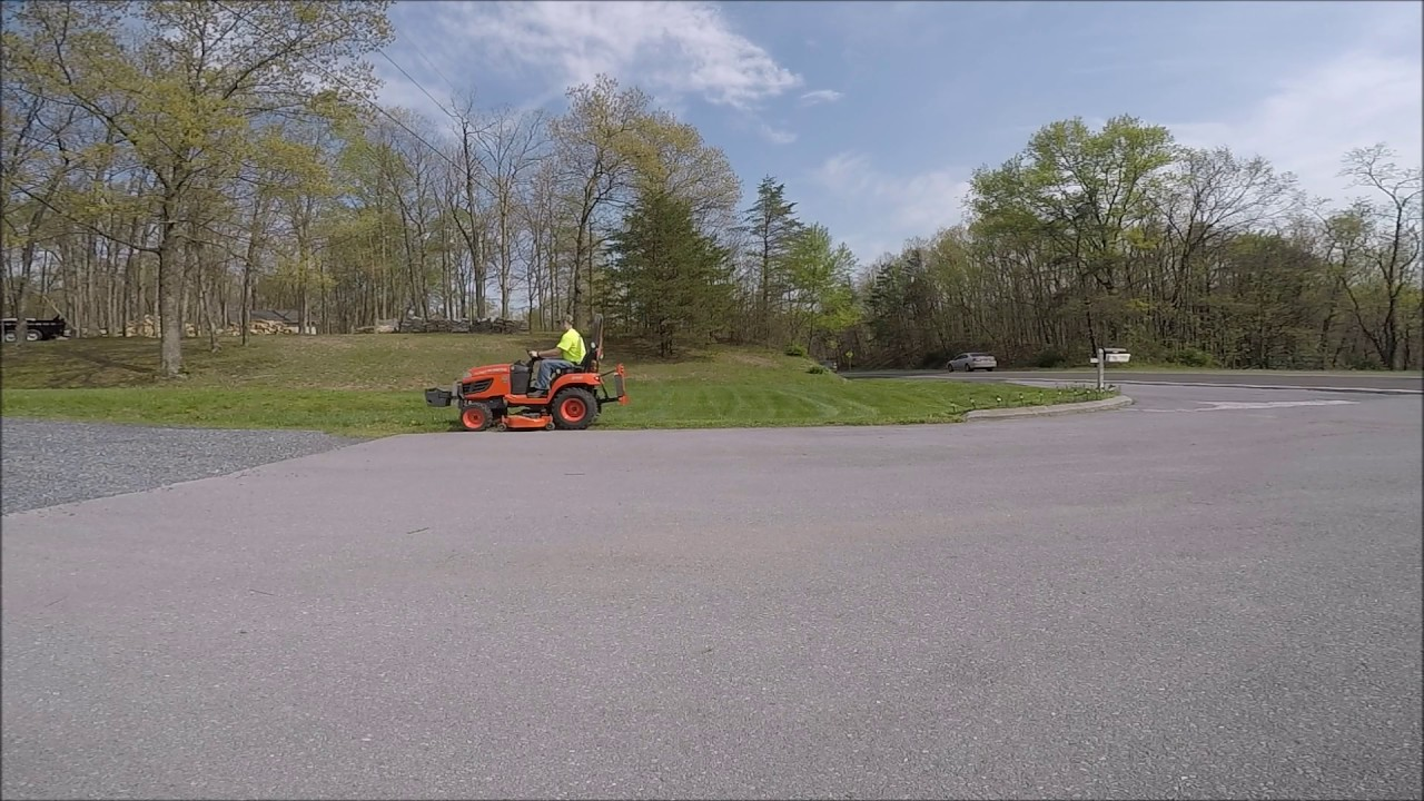Kubota BX vs  Zeroturn: Which is faster for Mowing