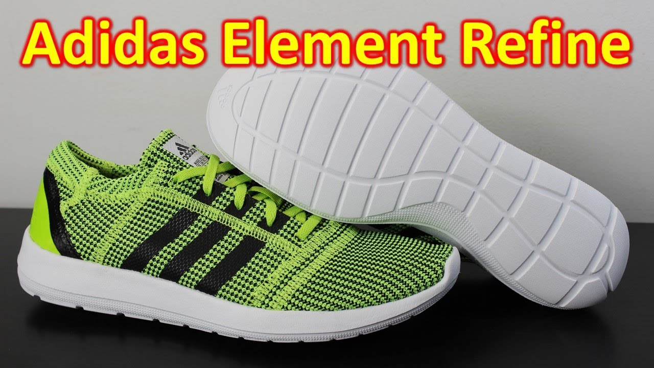 low priced f3063 0d3ba Adidas Element Refine - Review + On Feet - YouTube