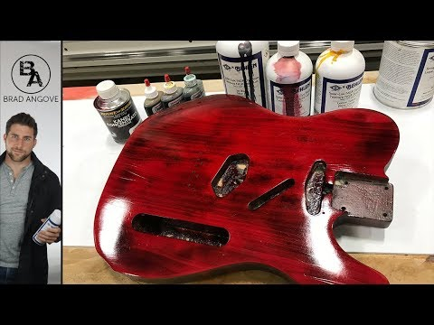 How to Tint Your Lacquer (For Guitars etc.)