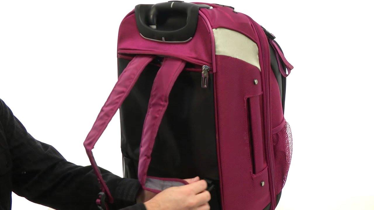 High Sierra AT7 CarryOn Wheeled Backpack SKU8414286 YouTube