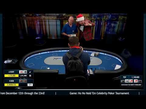 Ho Ho Hold Em Celebrity Poker Tournament Youtube