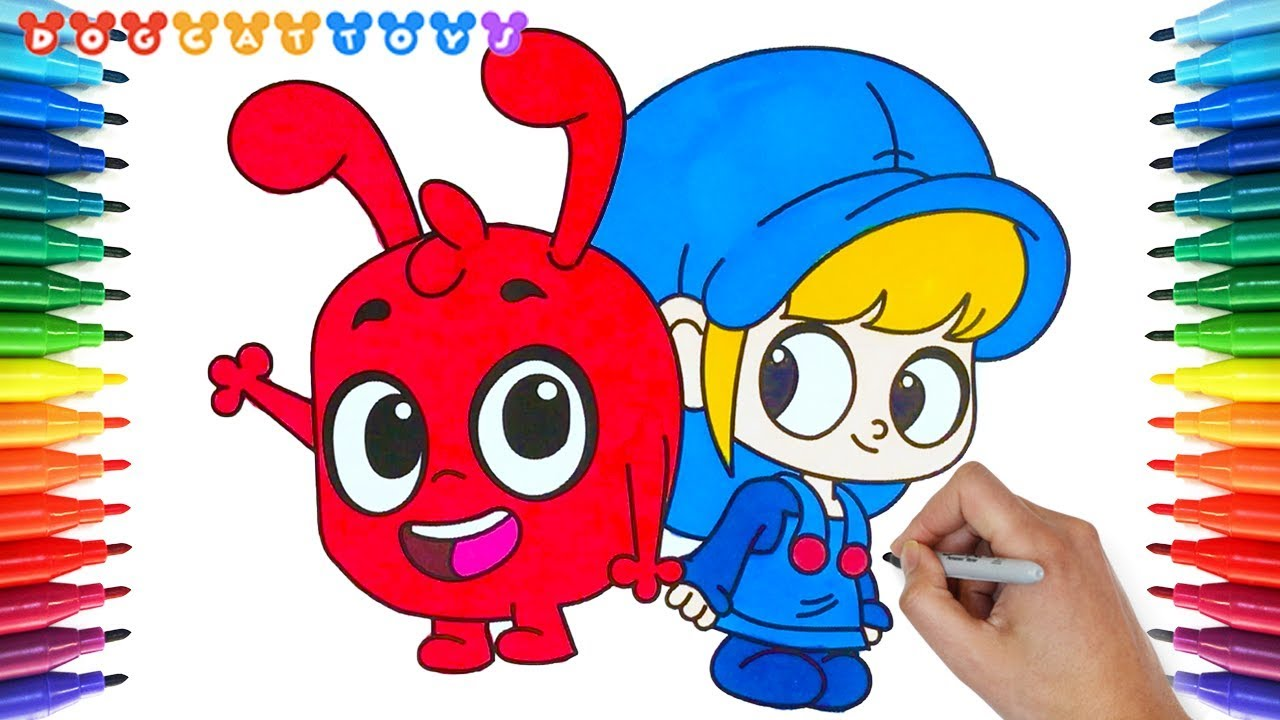Morphle, My Magic Pet Morphle, Coloring Book #25  Cute Drawing