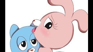 The Amazing World of Gumball Anime parody