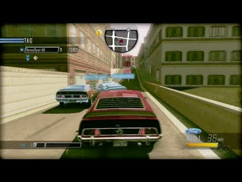 driver san francisco tag gameplay pc ps3 xbox 360. Black Bedroom Furniture Sets. Home Design Ideas