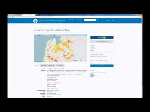 How to download Flood Hazard Maps in LiPAD