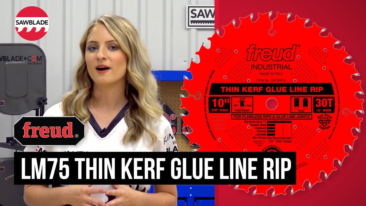 Glue Line Rip Blade