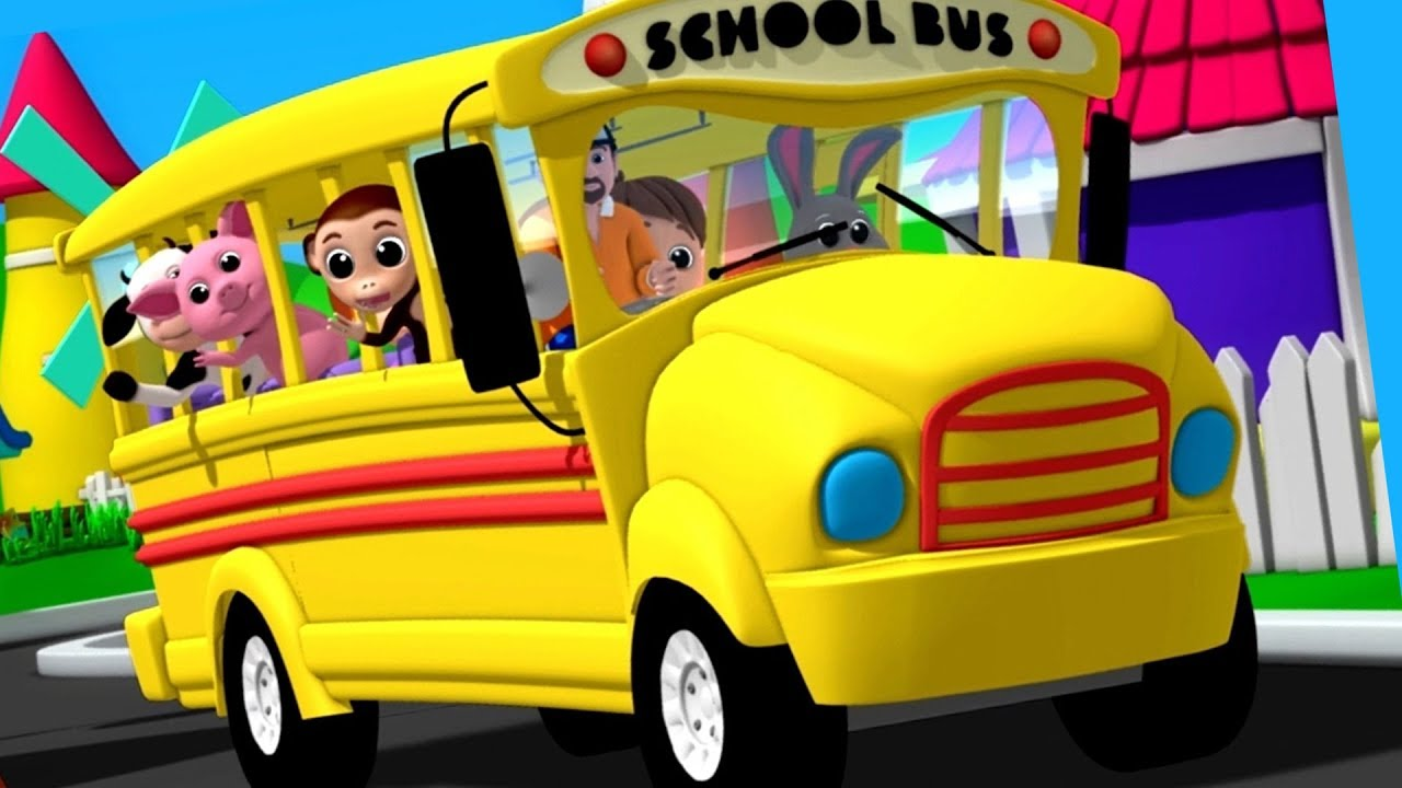 Wheels On The Bus | Nursery Rhymes | Songs For Children ...