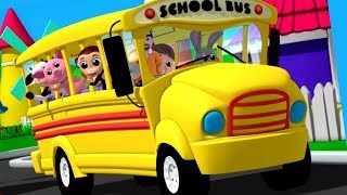 Wheels On The Bus | Nursery Rhymes | Songs For Children