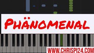 Phänomenal   ChrisPi24 Piano Tutorial (Pietro Lombardi)