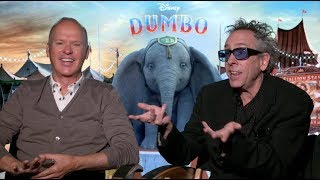 DUMBO interviews - Burton, Keaton, De Vito, Farrell, Eva Green - Batman, Beetlejuice