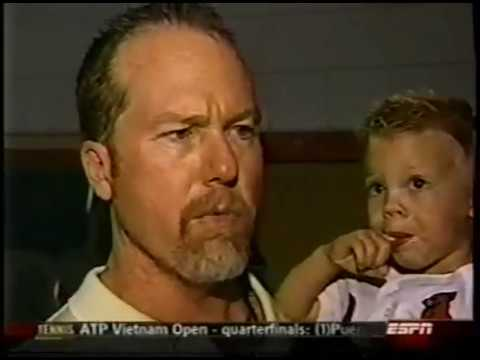 Mark McGwire & Jose Canseco Congressional Hearing on Steroids MLB 2005