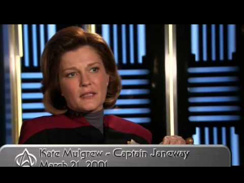 Kate Mulgrew  Voyager Time Capsule: Kathryn Janeway