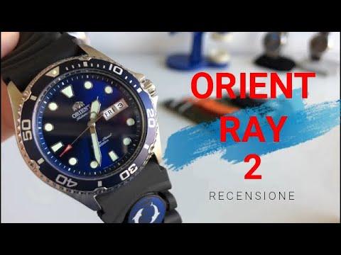 """Orient Ray 2 """"Il diver da 200 mt più economico"""