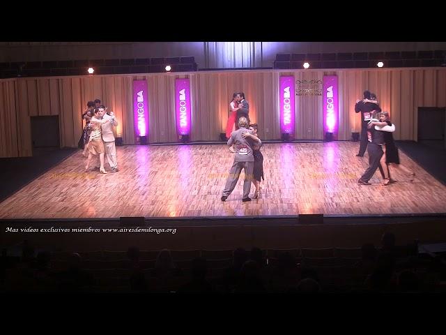 Mundial de tango 2021 Ronda 10 Baile de Tango Pista #TangoBA Buenos Aires 2