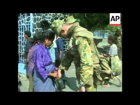 EAST TIMOR: UN PEACEKEEPERS CONTINUE TO ARRIVE (2)