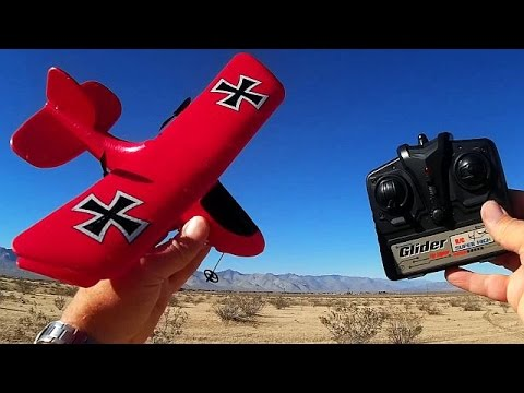 FX808 Red Baron Flybear the World's Cheapest and Easiest RC Airplanes