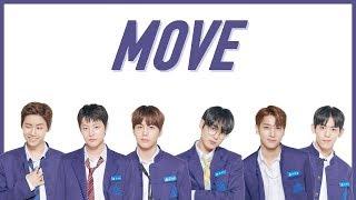 PRODUCE X 101 - MOVE (Easy Lyrics + Indo Sub) by GOMAWO