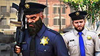 BAD COP LIFE! #1 (GTA 5 Funny Moments Cinematic/Trevor's Fails Patr...