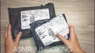 ASMR Unboxing Распаковка 2 посылок с AliExpress АСМР с шёпотом Шуршание Мурашки