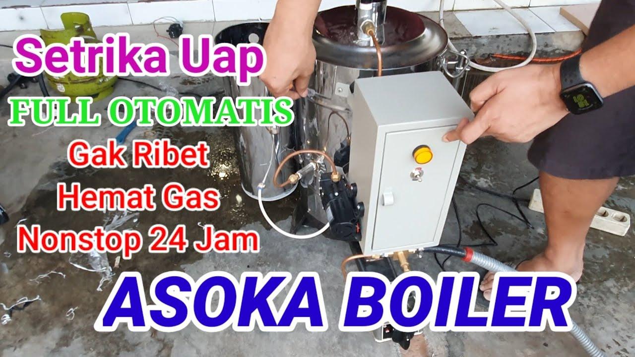 Setrika Uap Anti Ribet | Asoka Boiler Full Otomatis