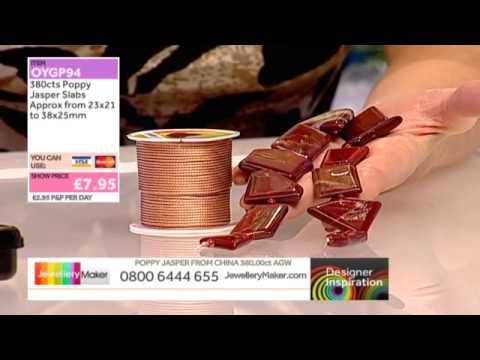 [How to create Wirework Jewellery] - JewelleryMaker DI 23/11/14