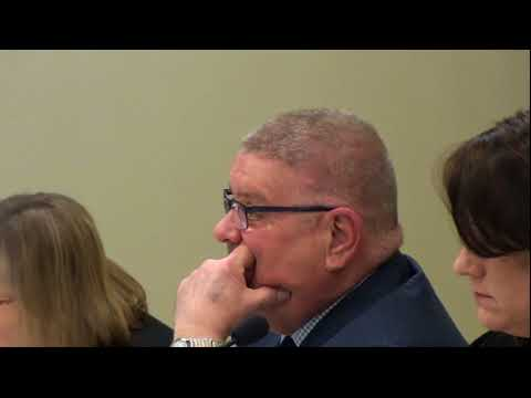 Phillipsburg town council meeting 32018 Mark Lutz and Junk yard