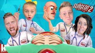 World's Worst Doctors (Surgeon Simulator 2!) K-CITY GAMING