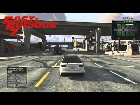 Fast & Furious 7 (Rápidos y furiosos 7) en GTA V Online