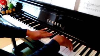 何度かドラマの途中で使われていたので、短いですが、簡単にピアノアレ...