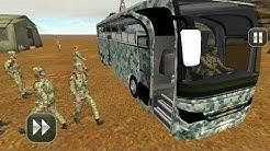 बस वाला गेम डाउनलोड करना है|Army bus Driving 2017: military coach transporter